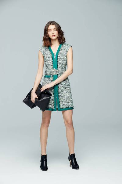 Elegant woolen dress
