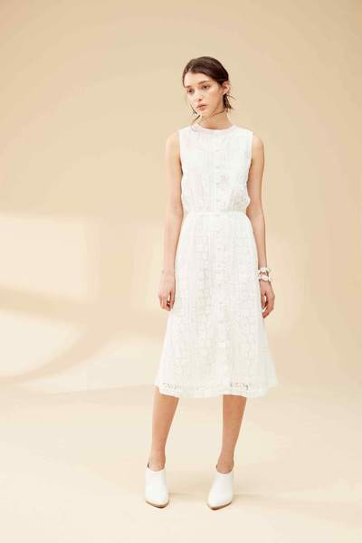 Full lace classic dress