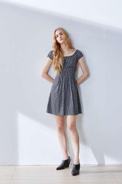 Vintage elegant classic dress