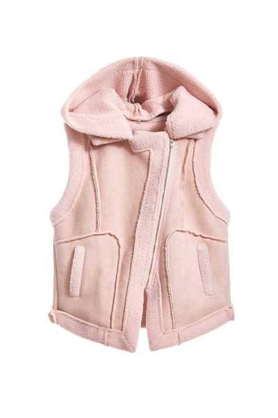 Lapel collar vest