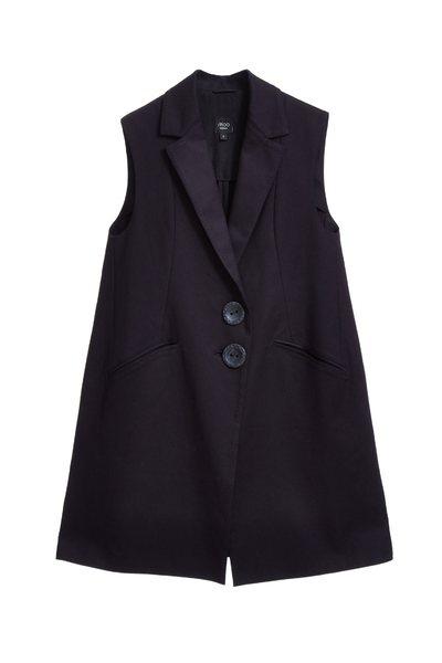 Lapel classic vest