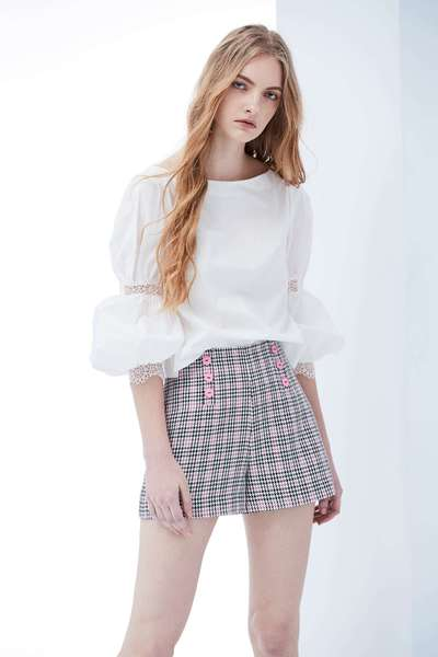 Woman design long sleeve top