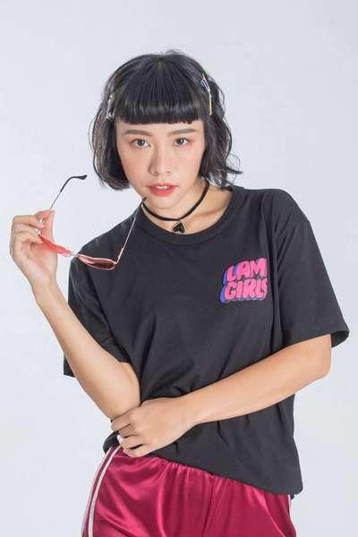 iRoo x LamiGirls  Pop Cotton Short Sleeve Tshirt