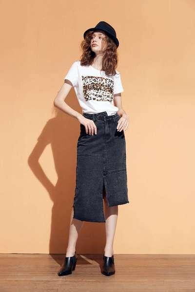 Trendy Leopard  T-shirt