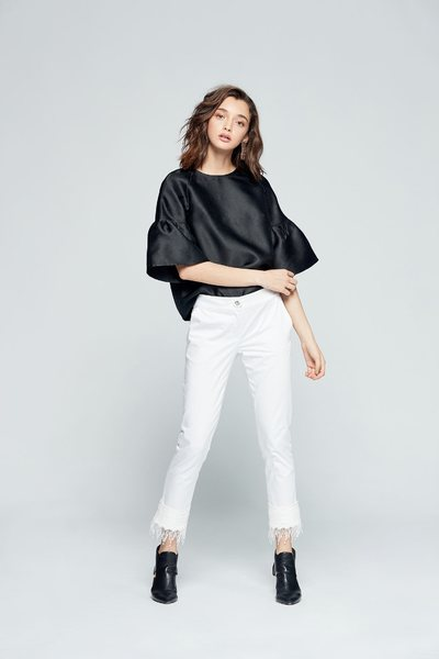 Puff Sleeve Styling top