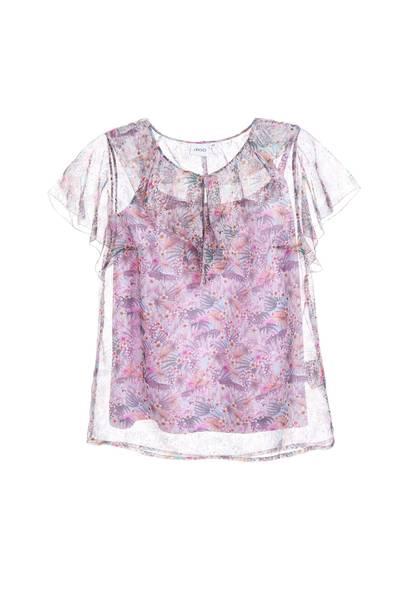 Elegant floral design top