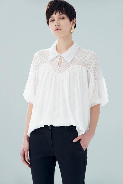 Elegant and translucent design top