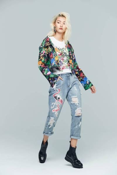 Rainforest fashionable jacket