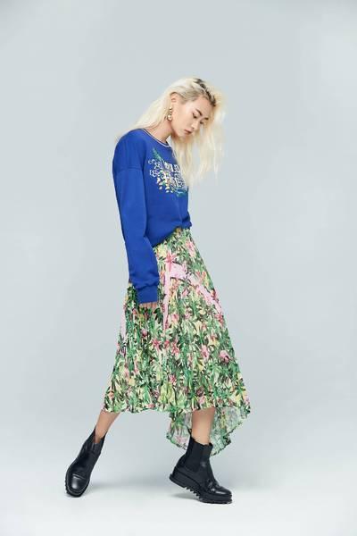 Evergreen design skirt