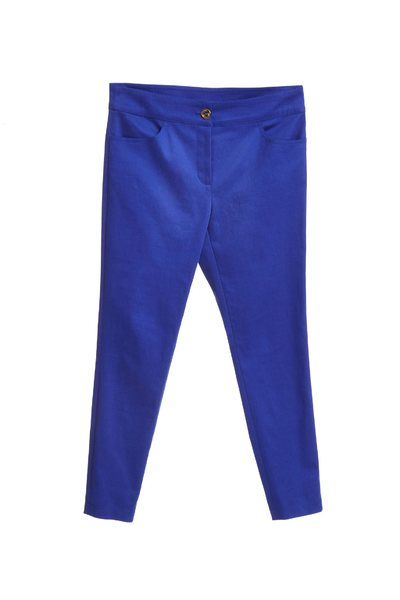 Fitted fashion trousers