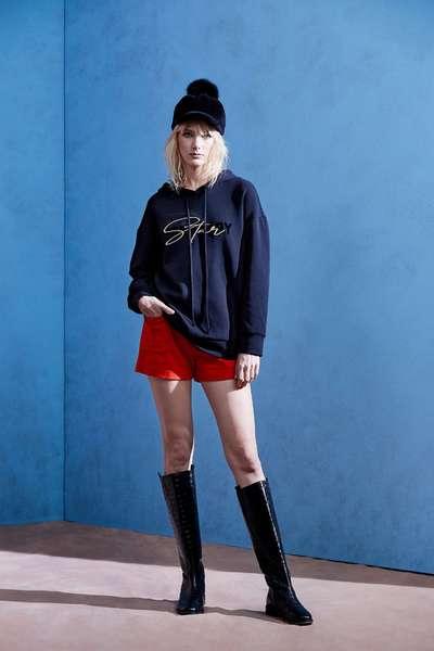 Casual ordinary shorts