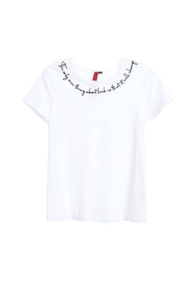 Basic plain popular cotton short-sleeved Tshirt
