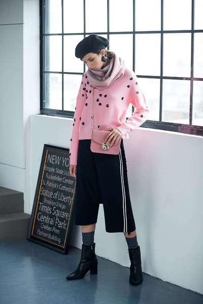 Fashion grace pink top