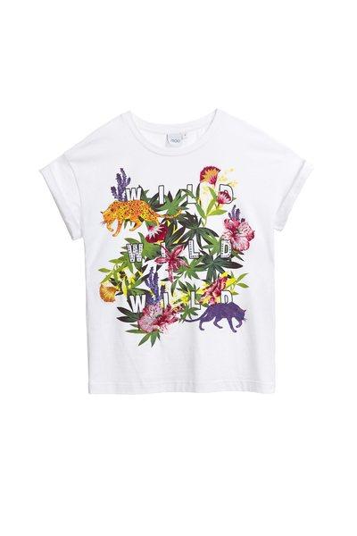 Rainforest totem cotton T-shirt